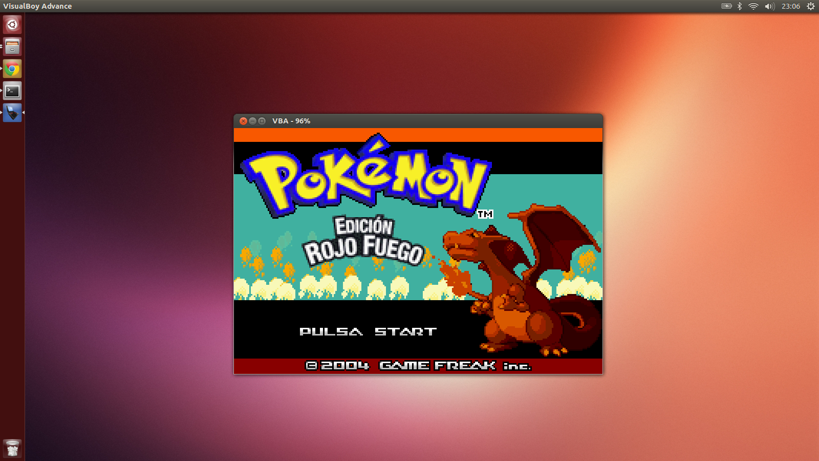 Gameboy Advance - Ubuntu 13.05
