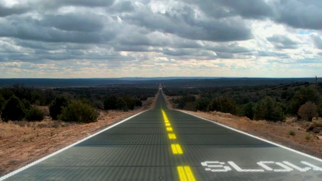 Carreteras solares y energía por pisada
