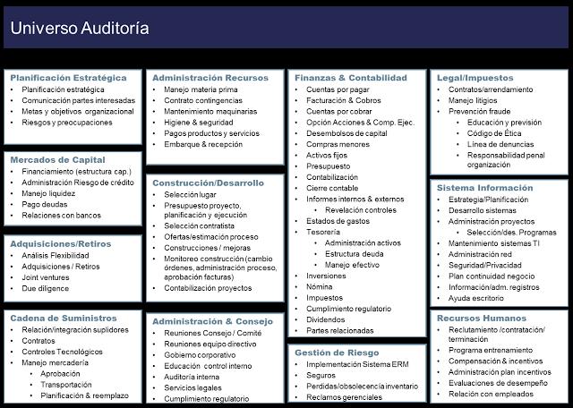 universo de auditorias para consultores y empresas
