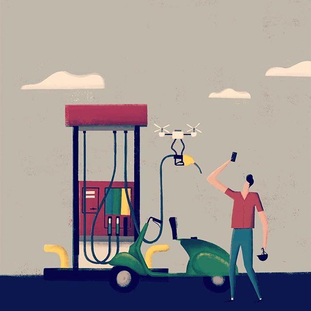 Petroleras + Internet de las Cosas =  Captación de clientes