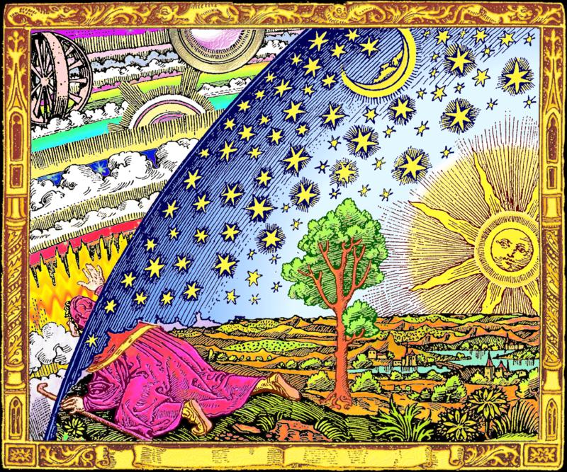 El grabado Flammarion - Otra versión de 2015