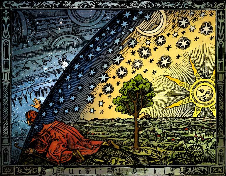 El grabado Flammarion - Versión de Hugo Heikenwaelder Viena 1998