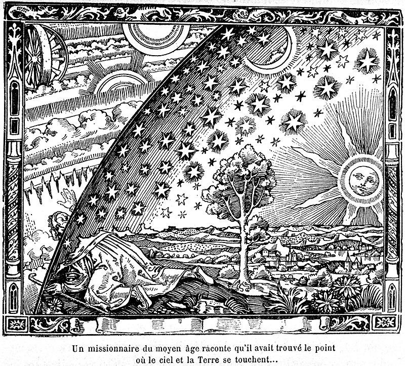 El grabado Flammarion